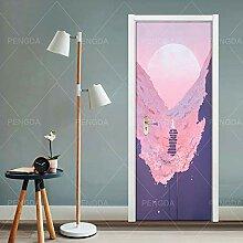3D Türaufkleber Türposter für Innentüren