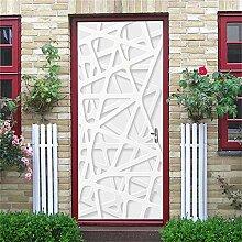 3D Türtapete 3D Tür Aufkleber Wallpaper