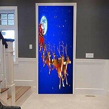 3D Türtapete selbstklebend Türposter - Netter
