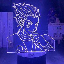 3D visuelle Nachtlicht-Illusionslampe Kinder