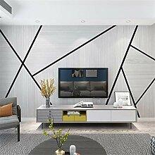 3D Vliesstoff Wallpaper Nordic Wohnzimmer Tv