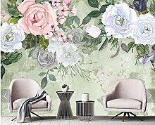 3D Vliestapete Fototapete Abstrakter 3D Rose Blume