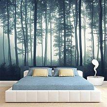 3D Vliestapete Woods Waldtapete Wohnzimmer