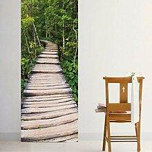 3D Wald Stein Treppen Aufkleber Für Heimtextilien