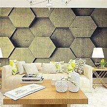 3D Wallpaper Art Deco Wallpaper Retro Wand CoveringCanvas Großes Mural Einfache StereoXL XXL XXXL , 3xl
