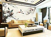 3d wallpaper Chinesische Blumen- und