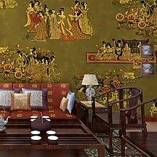 3D wallpaper chinesischen Stil Dame Figur
