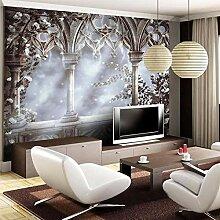 3D Wallpaper Europäischen Retro Großes Wandbild
