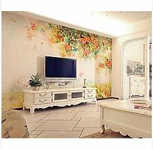 3D Wallpaper Fresco Silk Cloth Collage Pattern