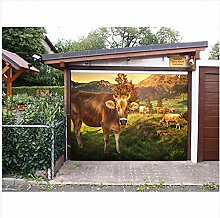 3D Wallpaper Fresco Silk Cloth Collage Prairie