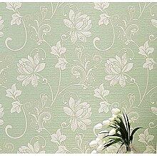 3D Wallpaper für zu Hause Moderne Wand CoveringNon nonwoven Papier erforderlich WallpaperRoom Wallcovering, Hellgrün
