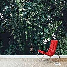 3D Wallpaper Moderne Grüne Pflanze Blatt