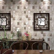 3D Wallpaper Moderne Tapeten, PVC/Vinyl 0,53 m * 10 m