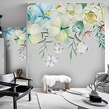 3D Wallpaper Pflanze Grünes Blatt Blume Foto