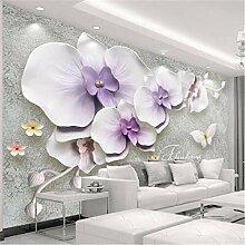 3D Wallpaper Vliesstoff Großes Wandbildgroße