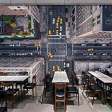 3D Wallpaper Vliesstoff Mit Blick Auf Luftbild