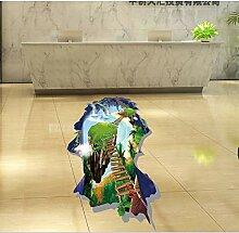 3D WandDelphin Wandaufkleber Kinderzimmer