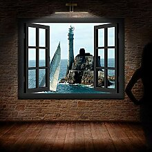 3D Wandbild Fototapete Fenster Bilder