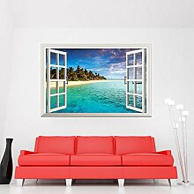 3D Wandbild Fototapete Fenster,Bilder