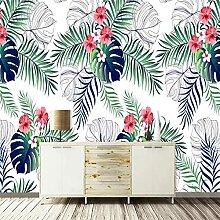 3D Wandbild Grüne Pflanze Blatt Foto Schlafzimmer