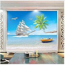 3D Wandbild Strand Sea View Benutzerdefinierte 3D