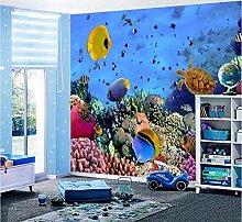 3D Wandbild Tapete Für Kinderzimmer Ocean World