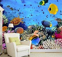 3D Wandbild Tapete Für Kinderzimmer Sea World