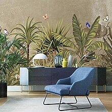 3D Wandbild Tapete Ländliche Pflanze Regenwald