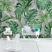 3D Wandbild Tapete Moderne Tropische Pflanze