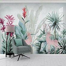 3D Wandbild Tapete Nordic Tropische Pflanze