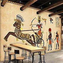 3D Wandbild Tapete Vlies Retro Ägyptischen