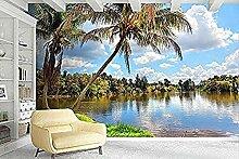 3D-Wandbild Tapete Wohnkultur See Landschaft