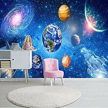3D-Wandbild, Universum, Sternenhimmel-Galaxie,