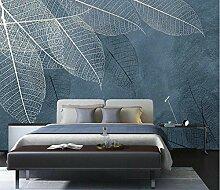 3D Wandbilder Blätter Fototapete Moderne Design