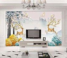 3D Wandbilder Elk Fototapete Moderne Design