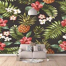 3D Wandbilder Fruchtblätter Fototapete Moderne