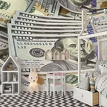 3D Wandbilder Geld Fototapete Moderne Design