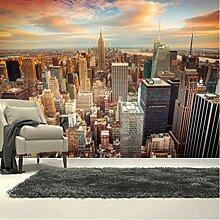 3D Wandbilder Stadt Himmel Fototapete Moderne