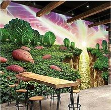 3D Wandbilder Süße Süßkartoffel Fototapete