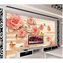 3d wandbilder tapete für wohnzimmer marmor Relief