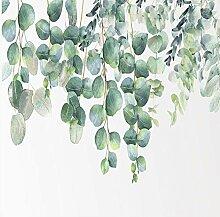 3D Wandbilder Tapete Grüne Pflanze Blätter Foto