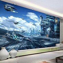 3D Wandtapete Für Wände Zukunft Universum Thema