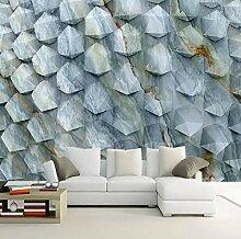 3D-Wandtapete, modernes abstraktes geometrisches