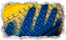 3D Wandtattoo Verbrechen Diebstahl Hand Tastatur