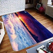3D Wolkenmeer Sonnenaufgang