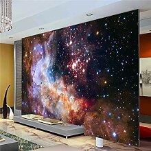 3D Wunderschöne Galaxie Fototapete