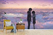 3D Your Name Wolke 192 Japan Anime Tapeten Drucken