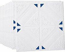 3D Ziegel Tapete Moderne Wandverkleidung in