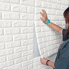 3D Ziegelstein Tapete, Selbstklebend Brick Muster