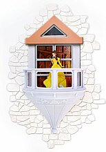 3DlightFX Disney Belle Prinzessin 3D Wandlampe mit